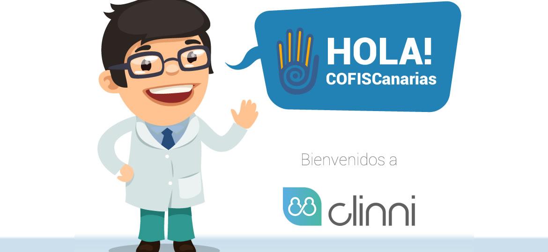 Clinni - Convenio de Colaboración con el Colegio de Fisioterapeutas de Canarias
