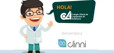 Clinni - Convenio de Colaboración con el Colegio Oficial de Logopedas de Andalucía