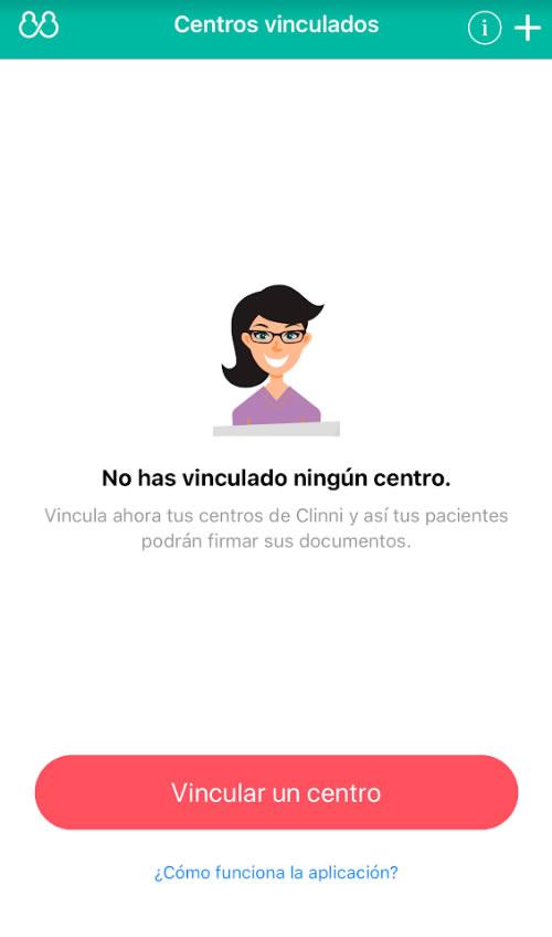 Clinni - Funcionamiento de la App de Clinni firma