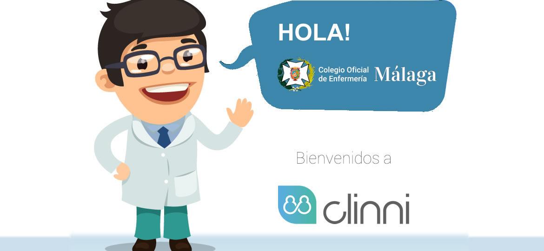 Clinni - Convenio de Colaboración con el Colegio Oficial de Enfermería de Málaga